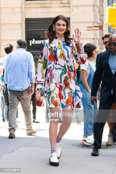 Diana Silvers attends AOL Build in NoHo on May 22 2019 in New York City