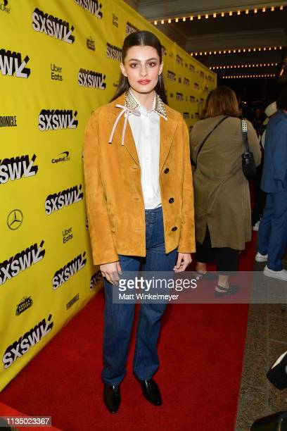 Diana Silvers attends the Booksmart Premiere 2019 SXSW Conference and Festivals at Paramount Theatre on March 10 2019 in Austin Texas