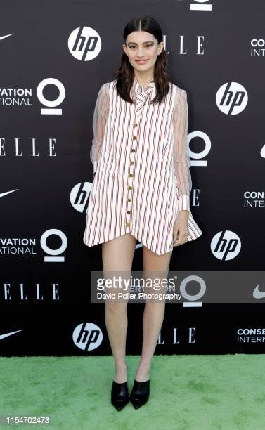 Diana Silvers attends the Conservation International ELLE Los Angeles Gala at Milk Studios on June 08 2019 in Hollywood California