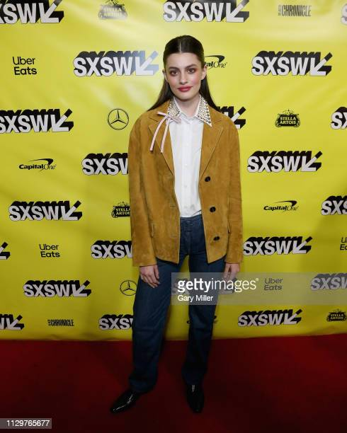 Diana Silvers attends the premiere of 'Booksmart' at the Paramount Theatre during the 2019 SXSW Conference And Festival on March 10 2019 in Austin...
