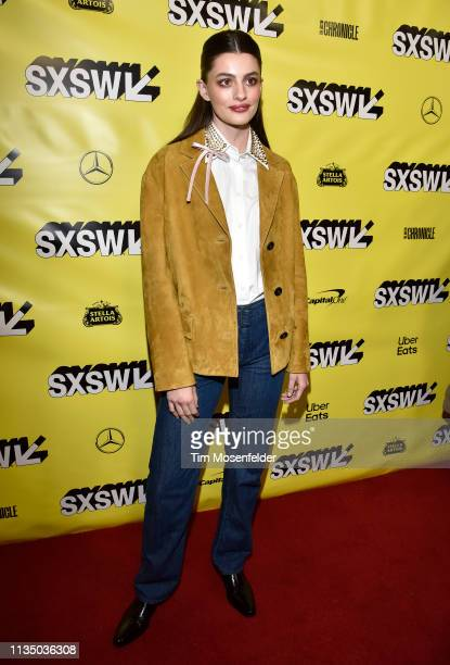 Diana Silvers attends the premiere of Booksmart during the 2019 SXSW Conference And Festival at the Paramount Theatre on March 10 2019 in Austin Texas