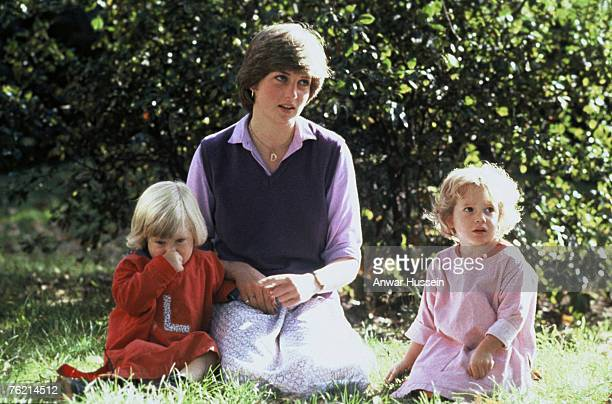 Diana Spencer at the Young England Kindergarten in September 1980 shortly before her engagement to Prince Charles Prince of Wales was announced