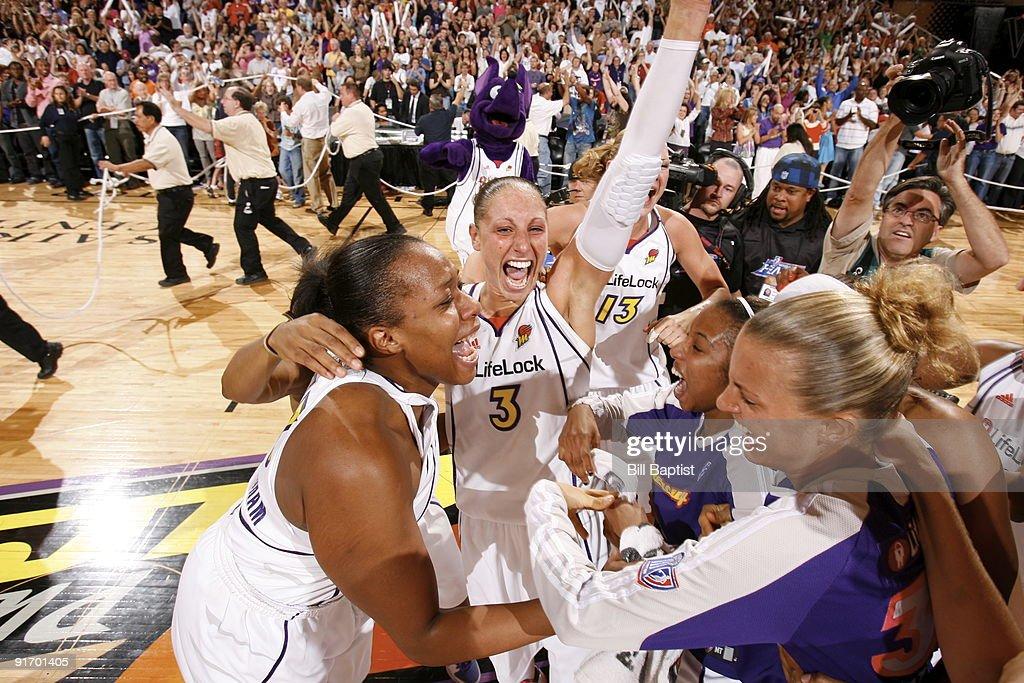 WNBA Finals Game 5:  Indiana Fever v Phoenix Mercury