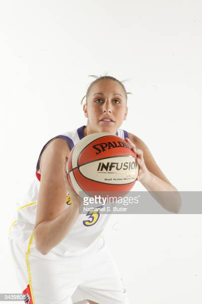 Diana Taurasi from the University of Connecticut was selected by the Phoenix Mercury as the No 1 pick in the 2004 WNBA Draft on April 17 2004 in...