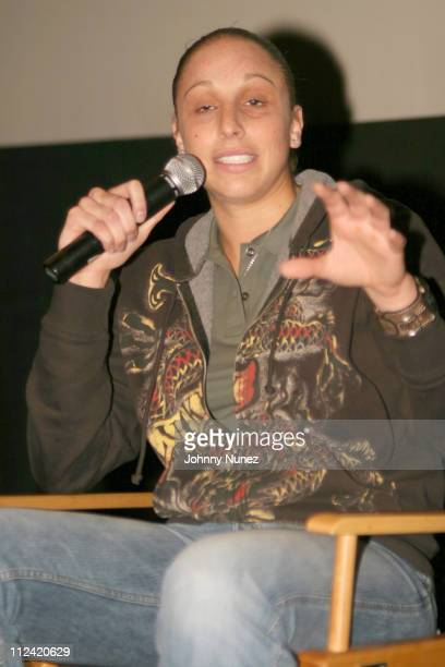 Diana Taurasi of the Phoenix Mercury during Coach Carter New York City Premiere Screening Panel at Loews Theater 68th Street in New York City New...