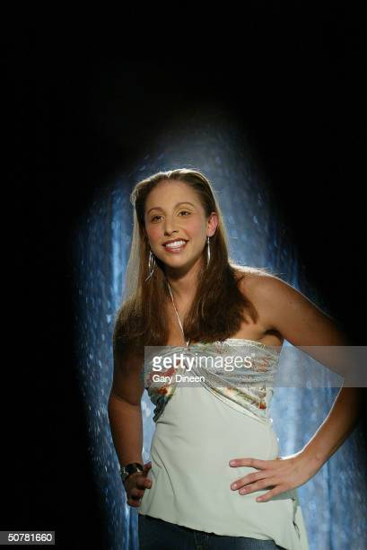 Diana Taurasi of the Phoenix Mercury poses for a portrait as part of the WNBA 'This Is Who I Am' campaign on April 22 2004 in Chicago Illinois NOTE...