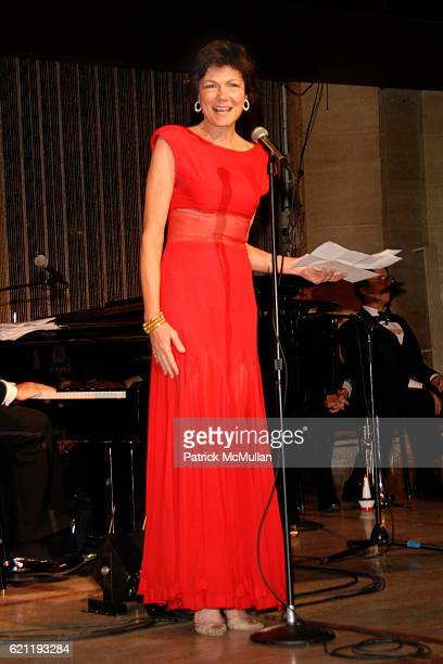 Diana Taylor attends Literacy Partners Hosts Annual Gala An Evening of Readings Honoring David and Julia Koch at Lincoln Center on May 12 2008 in New...