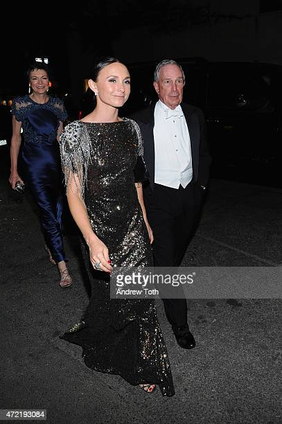 Diana Taylor Michael Bloomberg and Georgina Bloomberg attend Michael Kors and iTunes After Party at The Mark Hotel on May 4 2015 in New York City