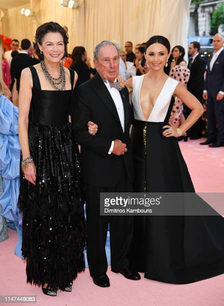Diana Taylor, Michael Bloomberg, and Georgina Bloomberg attend The 2019 Met Gala Celebrating Camp: Notes on Fashion at Metropolitan Museum of Art on...