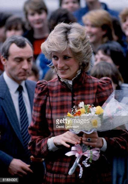 Diana the Princess of Wales visited Bridgend in Wales on January 29 1985 She was accompanied by her police bodyguard Sgt Barry Mannakee A video tape...