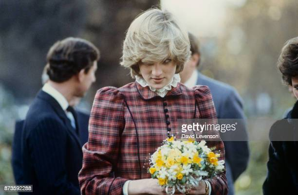 Diana the Princess of Wales visited Bridgend in Wales on January 29 1985