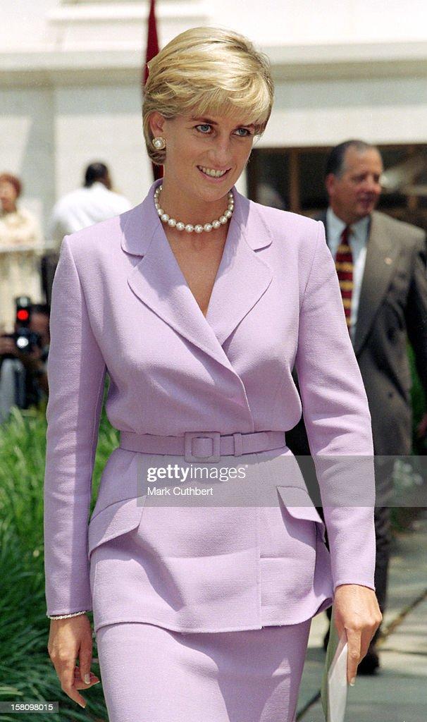 The Princess Of Wales Visits Washington : Photo d'actualité