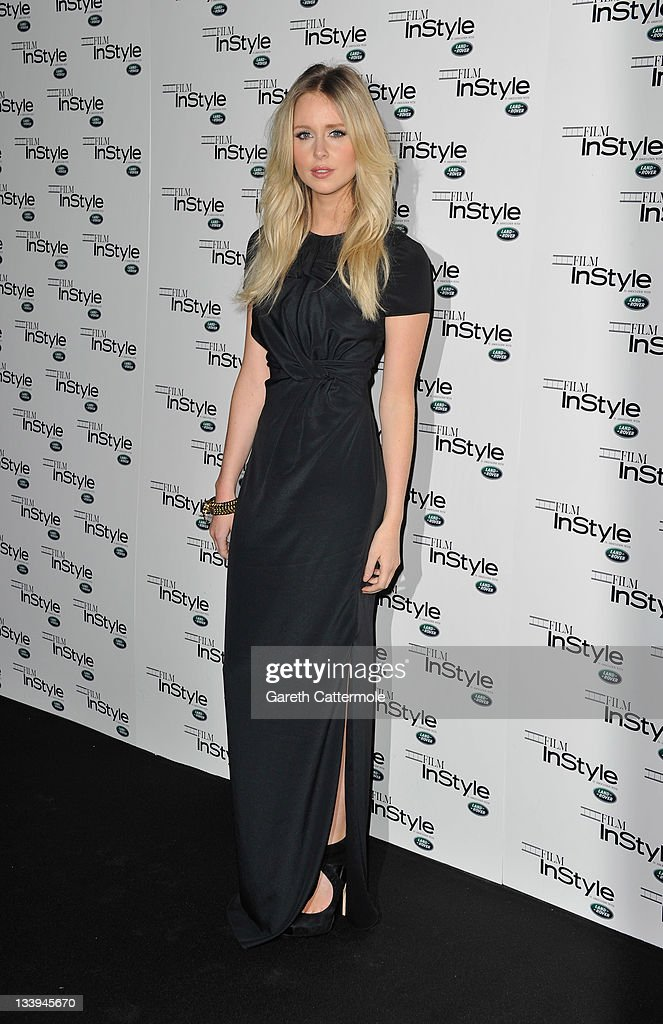 Diana Vickers arrives at 'Film InStyle' in association with Land Rover celebrating InStyle Magazine's 10th Anniversary at The Sanctum Soho Hotel on November 22, 2011 in London, England.