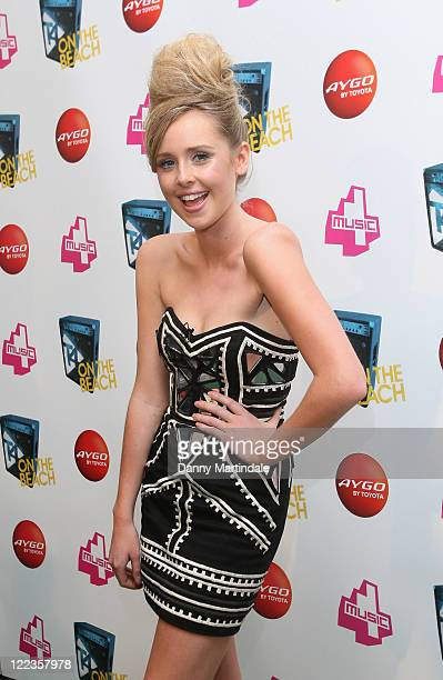 Diana Vickers attends T4 on the Beach on July 4 2010 in WestonSuperMare England