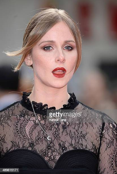 Diana Vickers attends the European premiere of 'Godzilla' held at the Odeon Leicester Square on May 11 2014 in London England