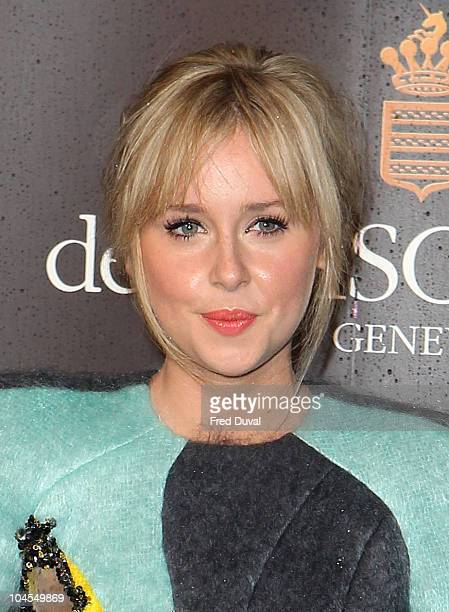 Diana Vickers attends the jewellery launch of 'Promise de Grisogono by Cheryl Cole' at Nobu on September 29 2010 in London England