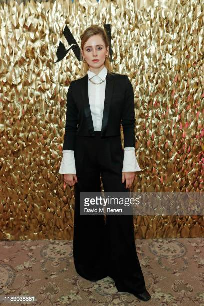 Diana Vickers attends the launch of Accor Hotels new 'Live Limitless' afternoon tea at The Savoy Hotel on December 16 2019 in London England