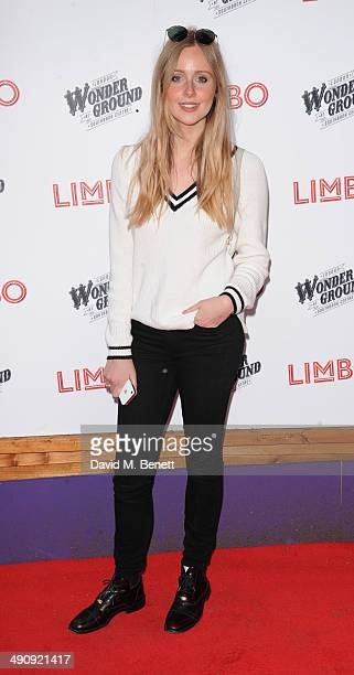 Diana Vickers attends the press night performance of 'LIMBO' on May 15 2014 in London England