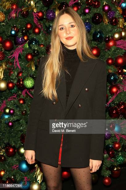 Diana Vickers attends the Rainbow Trust Carol Concert at St Paul's Church on December 5 2019 in London England