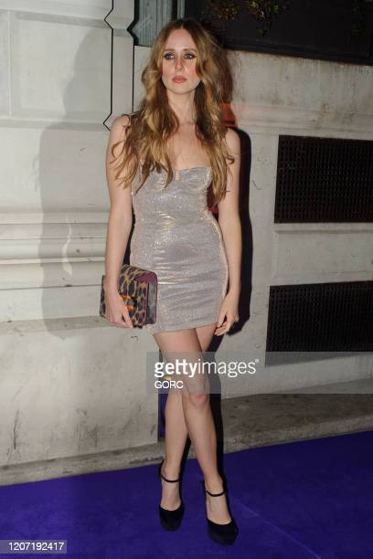 Diana Vickers seen attending the BRIT Awards 2020 Universal afterparty at the Ned hotel on February 18 2020 in London England