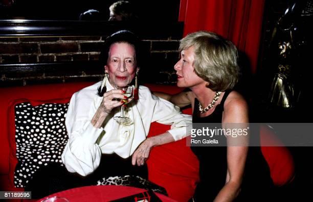 Diana Vreeland and Iris Love