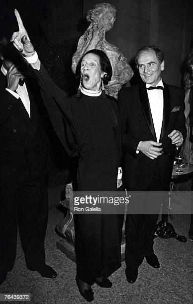 Diana Vreeland and Pierre Cardin