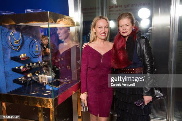 Diana WidmaierPicasso and Elena Foster attend Galerie Gmurzynska Hosts Diana WidmaierPicasso in Celebration of Mene 24K and Yves Klein on December 27...