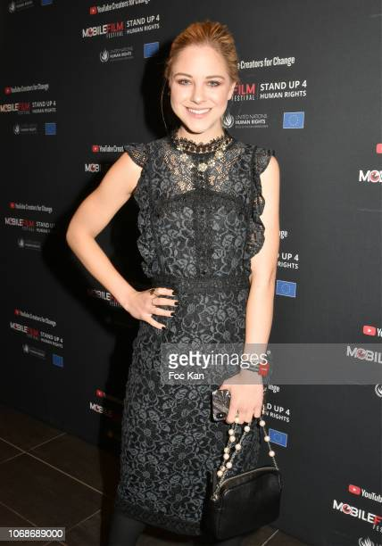 Diana Zur Lowen co founder of YouTube attends the 'Mobile Film Festival Stand Up 4 Human Rights Awards' Ceremony Hosted by Youtube Creators For...