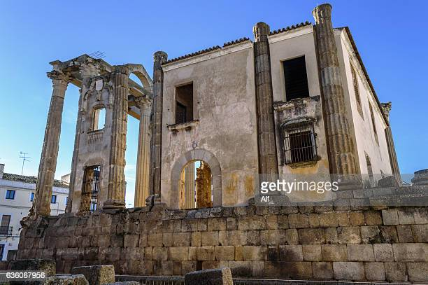 Diana's Temple (or house of miracles) in Mérida, Spain