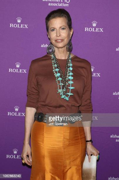 Diandra Luker attends the 35th Annual Alzheimer's Association Rita Hayworth Gala at Cipriani 42nd Street on October 23 2018 in New York City