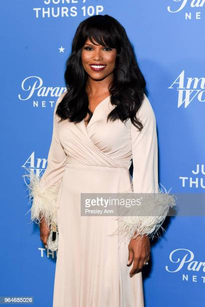 Diandra Lyle attends Premiere Of Paramount Network's 'American Woman' Arrivals at Chateau Marmont on May 31 2018 in Los Angeles California