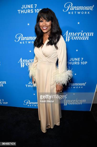 Diandra Lyle attends the 'American Woman' premiere party at Chateau Marmont on May 31 2018 in Los Angeles California