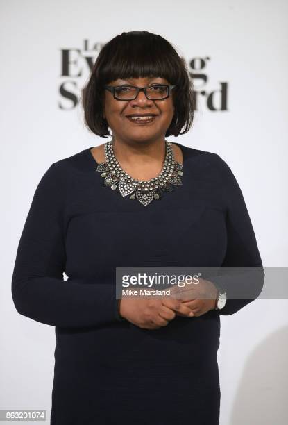 Diane Abbott attends London Evening Standard's Progress 1000 London's Most Influential People event at on October 19 2017 in London England