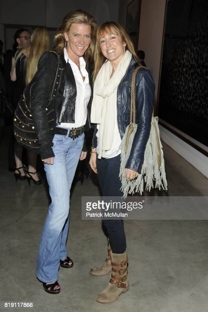 Diane and Blythe Barger attend LARRY GAGOSIAN hosts the ANDREAS GURSKY Opening Exhibition at GAGOSIAN GALLERY at Gagosian Gallery on March 4 2010 in...