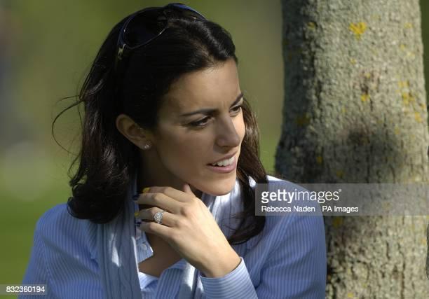 Diane Antonopoulos partner of Luke Donald