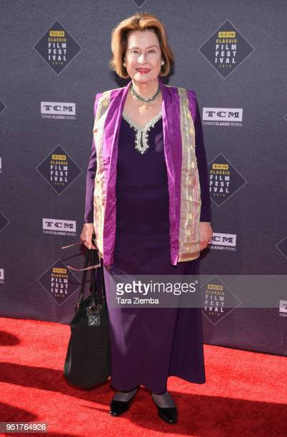 Diane Baker attends the 2018 TCM Classic Film Festival Opening Night Gala 50th Anniversary World Premiere Restoration of 'The Producers' at TCL...
