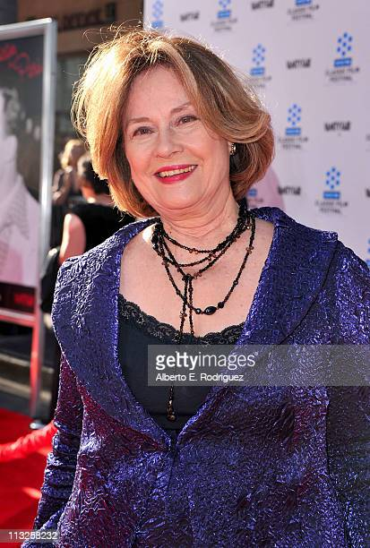 Diane Baker Executive Director of Motion Pictures Television and Actingat the Academy of Art University arrives at TCM Classic Film Festival Opening...