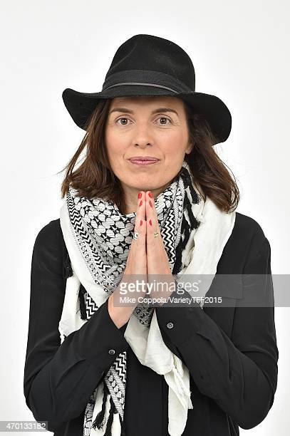 Diane Bell from Bleeding Heart appears at the 2015 Tribeca Film Festival Getty Images Studio on April 16 2015 in New York City