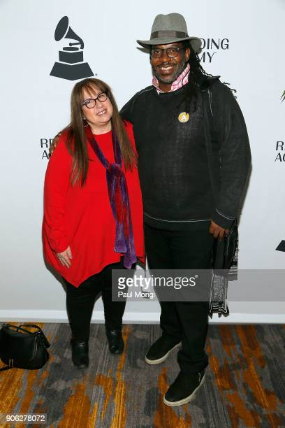Diane Blagman and James McKinney of The Recording Academy attend The Washington DC Chapter of The Recording Academy's 20th Anniversary Membership...