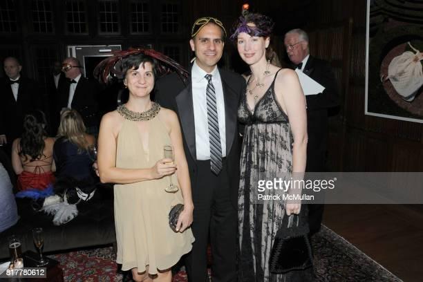 Diane Brody Tom Galati and Meghan Galati attend VIP MASKED BALL for Susan G Komen Headlined by Sir Richard Branson Katie Couric Cornelia Guest HM...
