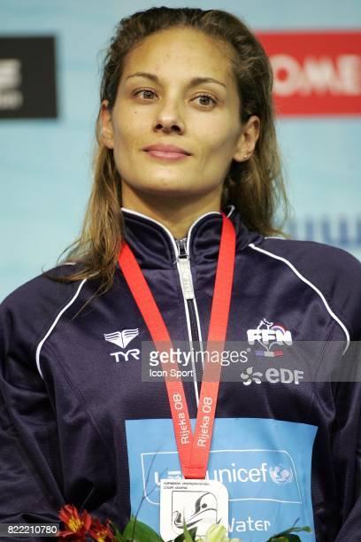 Diane BUI DUYET 100m Papillon Championnats d Europe petit bassin 2008 Rijeka