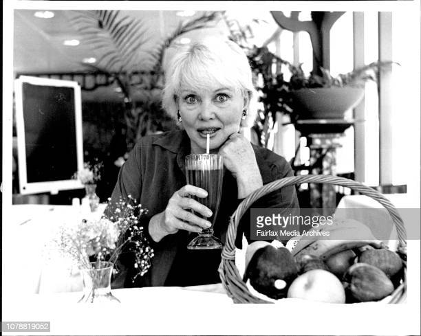 Diane Cilento at the ABC Cafeteria Broadway November 12 1993