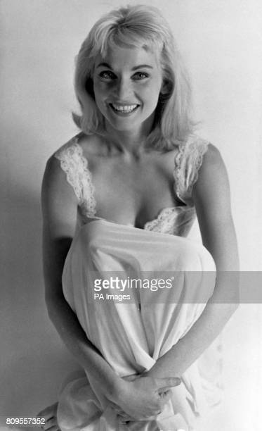 Diane Cilento who stars in a new Hammer Films' suspense thriller 'The Full Treatment'