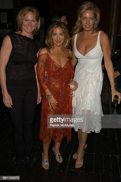Diane Coburn Bruning Kat Cohen and Lisa Hagen attend Chamber Dance Project at Angel Orensanz Foundation on April 21 2005 in New York City