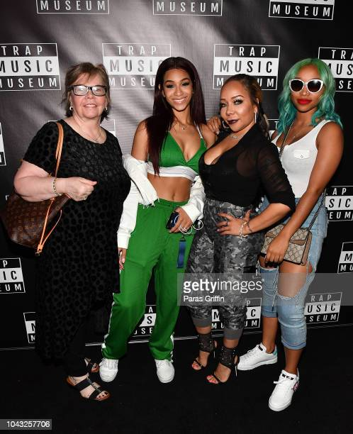 Diane CottlePope Deyjah Harris Tameka Tiny Harris and Zonnique Pullins attendTrap Music Museum VIP Preview at Trap Music Museum on September 29 2018...