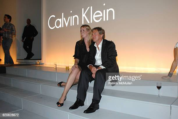 Diane Crawford and John Pawson attend CALVIN KLEIN INC Celebrates Milestone 40th Anniversary at the High Line on September 7 2008 in New York City