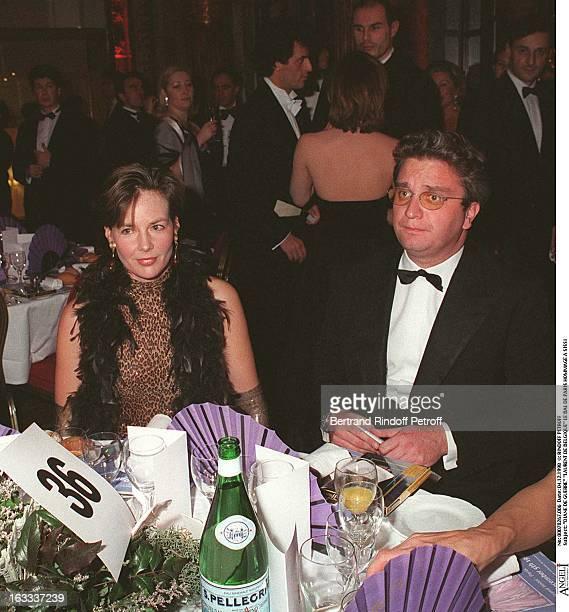Diane De Guerre and Laurent De Belgique at The Bal De Paris In Celebration Of Sissi
