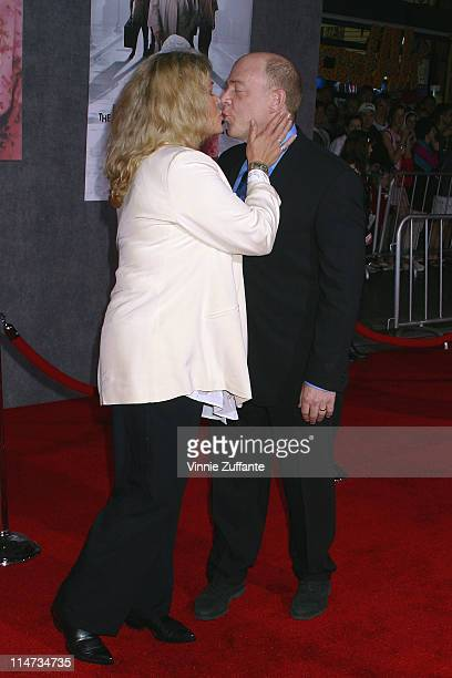 Diane Delano and JK Simmons The Ladykillers Los Angeles Premiere at the El Capitan Theatre Hollywood California 3/12/04