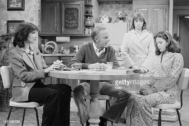 HELLO LARRY Diane Drinks Episode 13 Aired Pictured Joanna Gleason as Morgan Winslow McLean Stevenson as Larry Alder Kim Richards as Ruthie Alder...