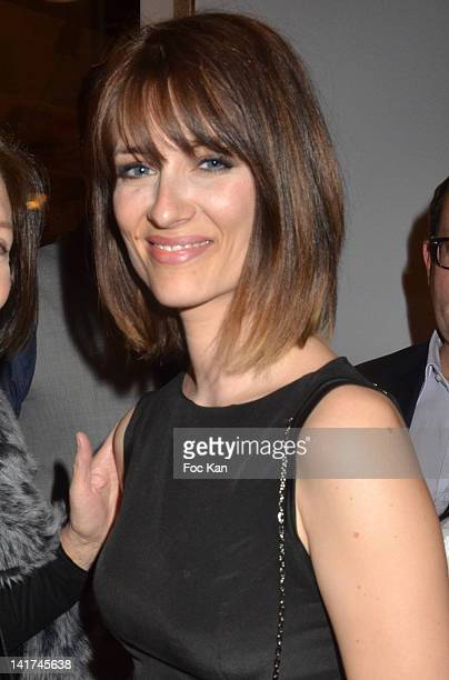 Diane Ducret attends the 'Prix Bel Ami 2012' Women Literary Awards at the Hotel Bel Ami on March 22 2012 in Paris France